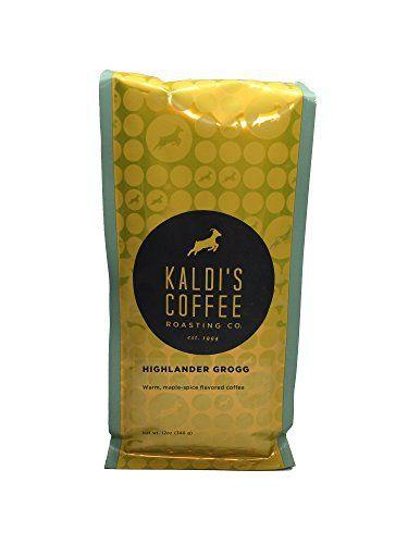 Kaldi's Coffee Roasting Co - Highlander Grogg - 12oz Foil Bag - http://mygourmetgifts.com/kaldis-coffee-roasting-co-highlander-grogg-12oz-foil-bag/