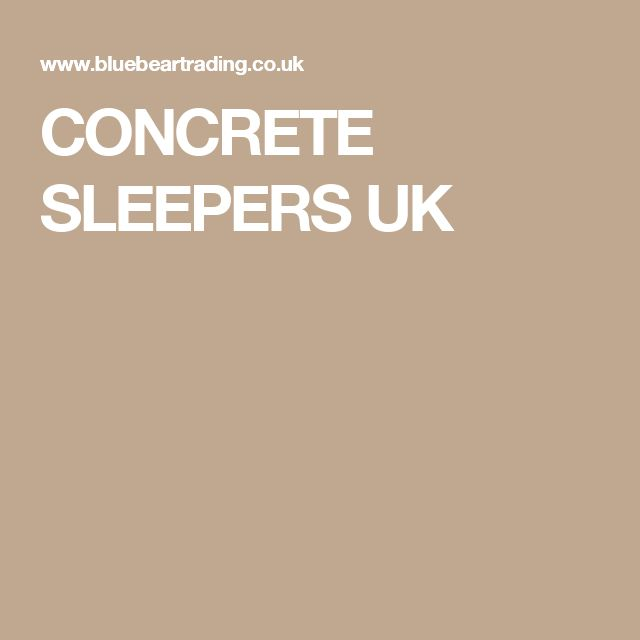 1000 Ideas About Concrete Sleepers On Pinterest
