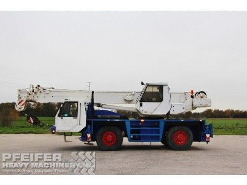 Telescopic Crane PPM ATT350 Pfeifer Heavy Machinery  #PPM #ATT350 #Used #Telescopic #Cranes #Pfeifer #Heavy #Machinery