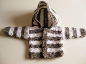 10 Free Crochet Sweater Patterns For Boys