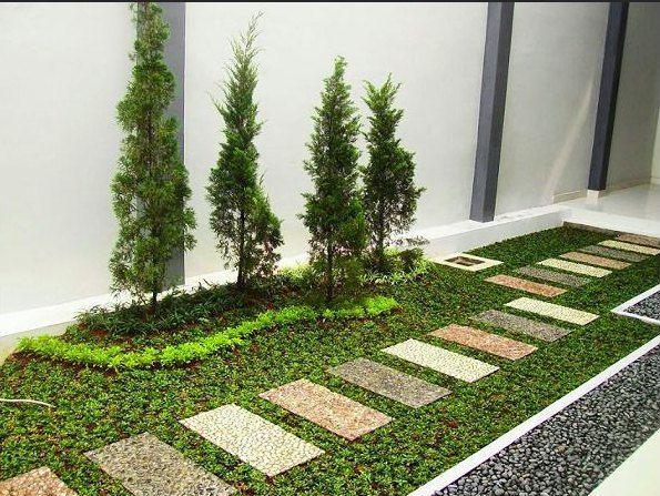 9 Desain Taman Depan Rumah Sederhana Pesona Rumah
