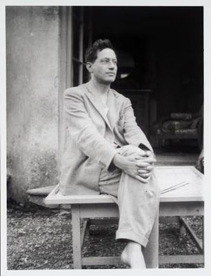 Duncan Grant at Charleston House, 1930's