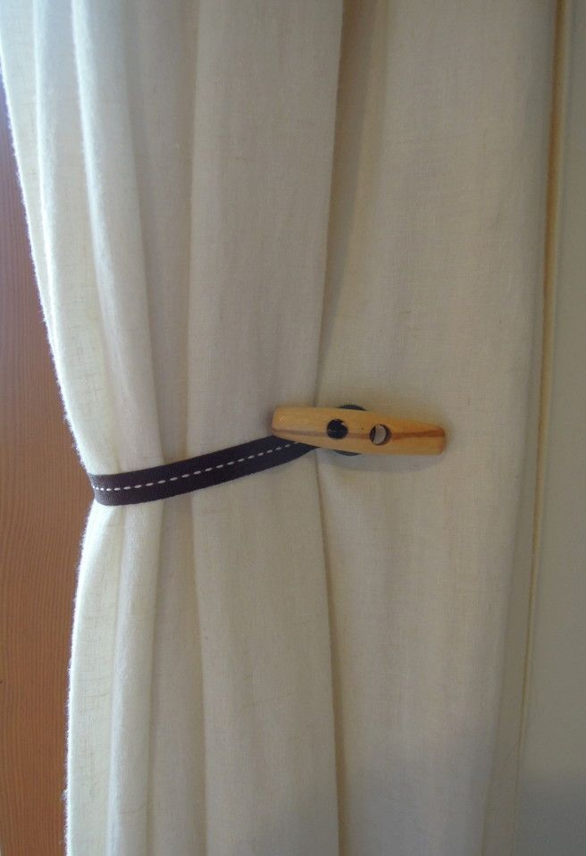Curtain Tie Backs Diy Magnetic