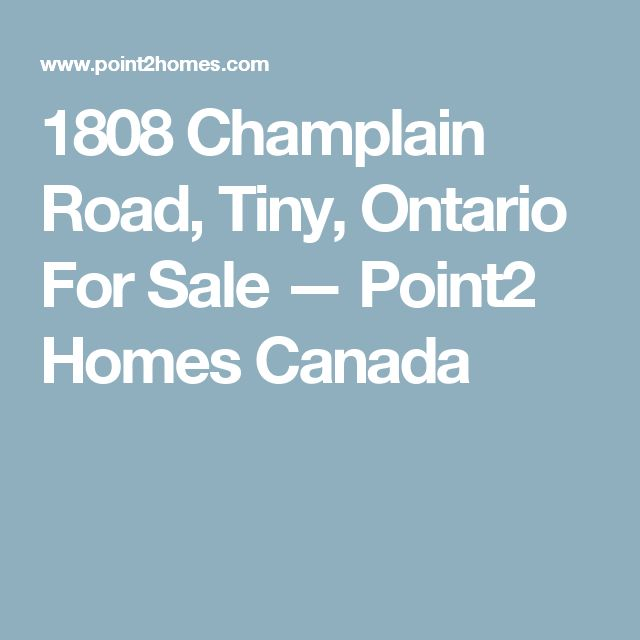 1808 Champlain Road, Tiny, Ontario For Sale — Point2 Homes Canada