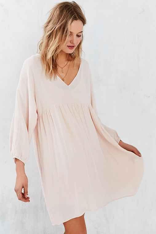 Little White Lies Cici Long-Sleeve Babydoll Dress
