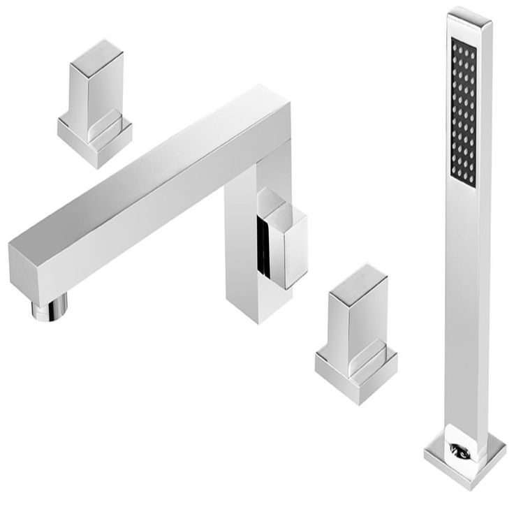 ANZZI Vernal 2-Handle Deck-Mount Roman Tub Faucet