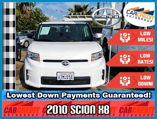 2010 Scion XB Hatchback! Low Miles, Down and Payments! Bad Credit Ok!
