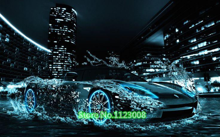 Роскошные автомобили diy алмаз живопись инкрустированные картины комплекты уникальный artifials home decor горный хрусталь вышивка NW0030