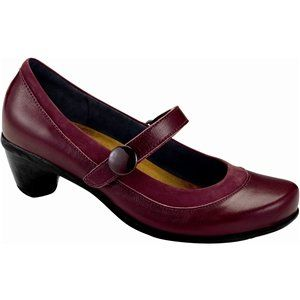 Naot Women's Trendy Heels,Merlot Leather/Queen's Wine Nubuck,36 M EU <3 This is an Amazon Associate's Pin. Find the item on Amazon website by clicking the VISIT button.