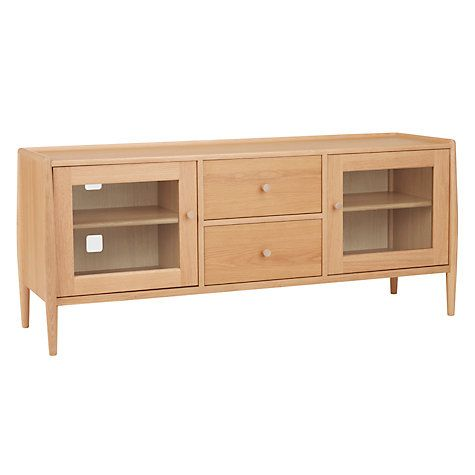 Buy ercol for John Lewis Shalstone TV Stand Online at johnlewis.com