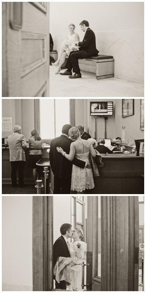courthouse wedding kind of wedding i want!
