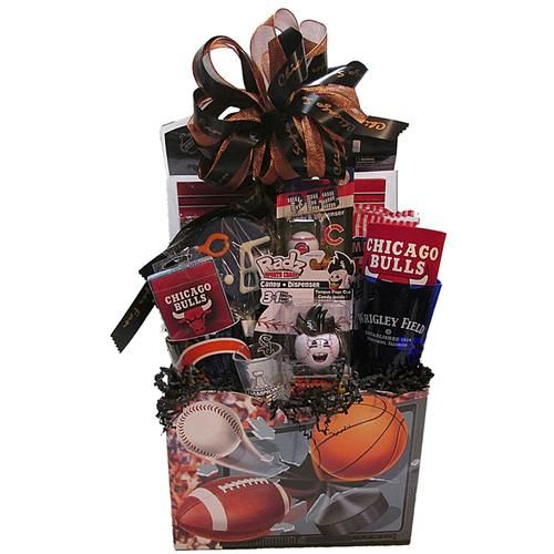 14 best chicago gift baskets images on pinterest gift basket gift know a chicago super fan check out this super fan gift basket negle Gallery
