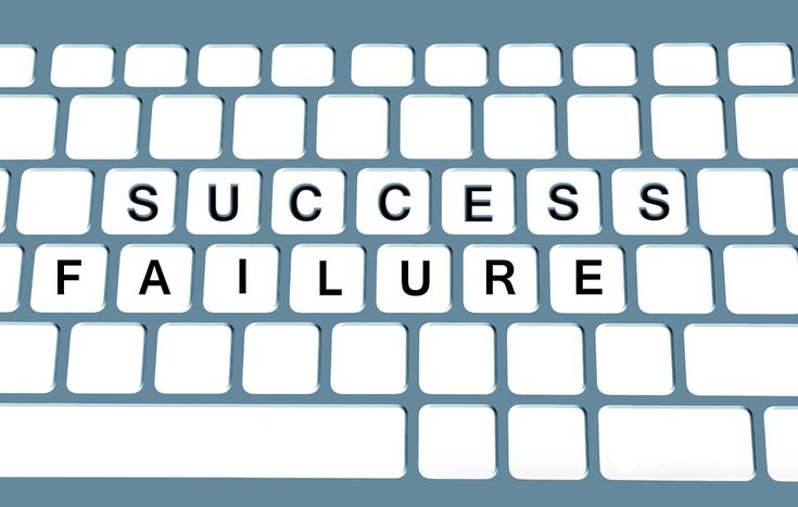 Keyboard, Success, Successful, Misfortune, Defeat, Loss
