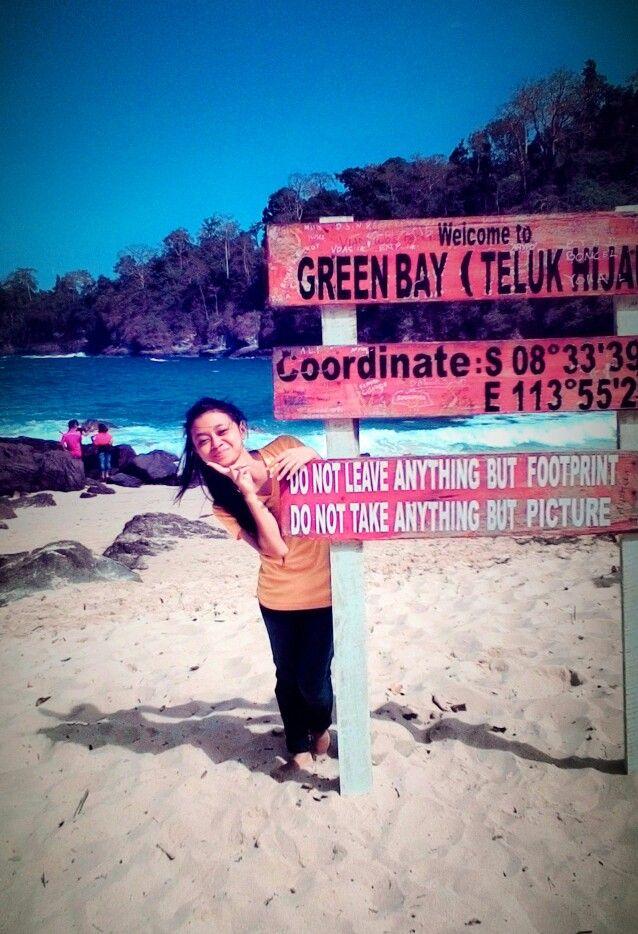 Teluk Hijau (Green Bay) di Banyuwangi, Jawa Timur