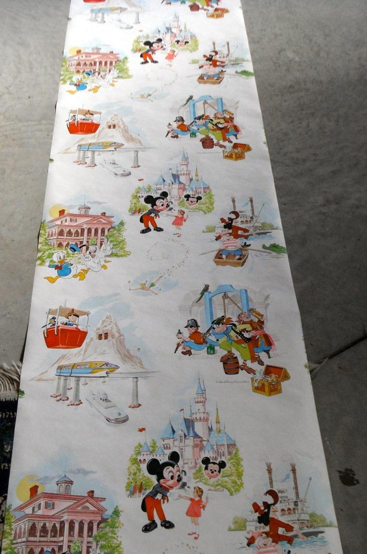 Vintage Disneyland wallpaper!