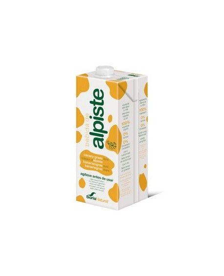 La bebida de Alpiste es 100% vegetal, de sabor suave y sorprendente, no contiene ni lactosa ni colesterol. Alternativa a la leche animal.