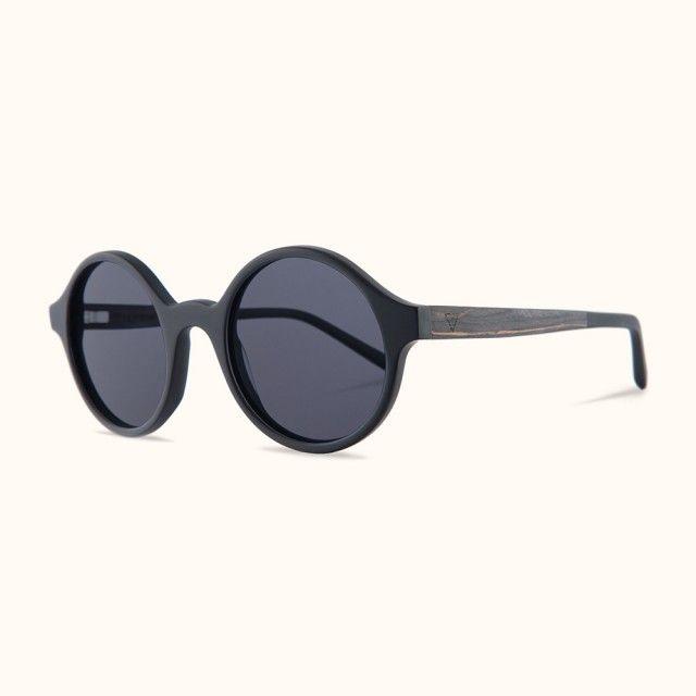 Kerbholz Cornelius Sonnenbrille (Matt Black) | selekkt.com