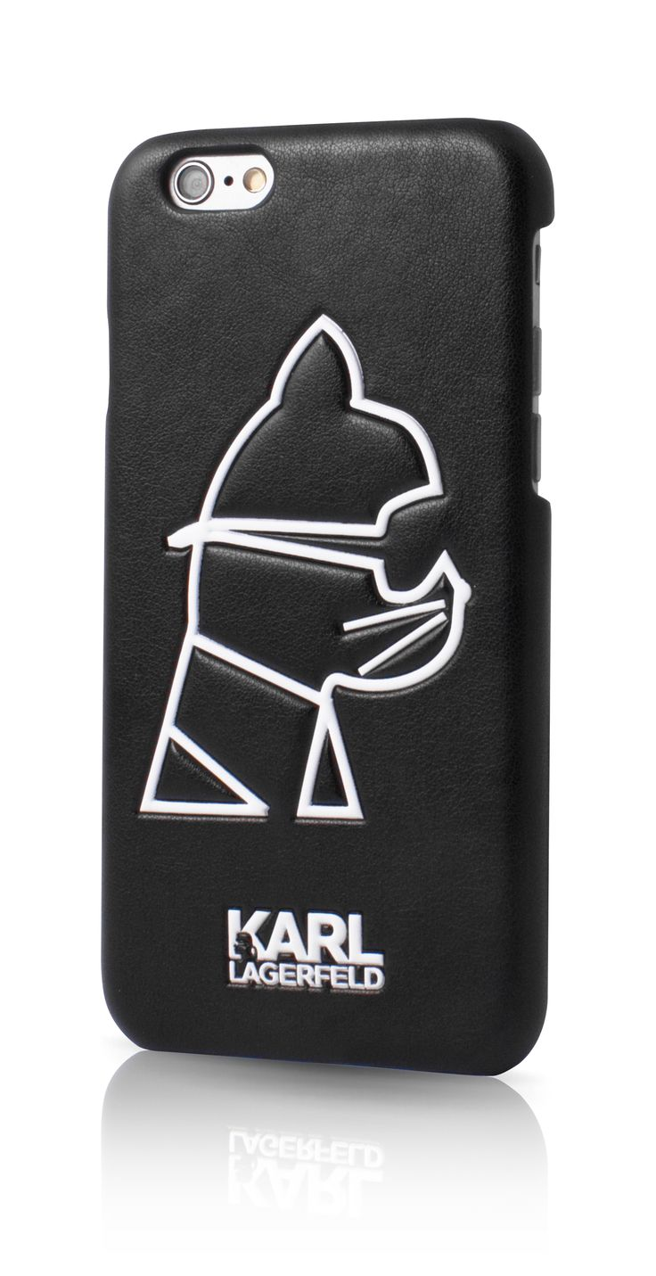 Karl Lagerfeld K-Punk - Case for iPhone 6/6S - Choupette - perfect #iphone case for cool cats!