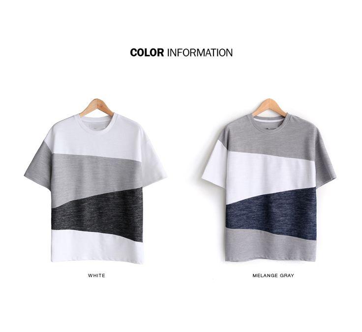 マルチカラー配色ショートスリーブTシャツ・全2色Tシャツ・カットソー半袖Tシャツ|レディースファッション通販 DHOLICディーホリック [ファストファッション 水着 ワンピース]