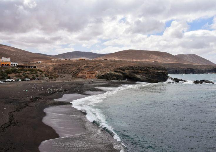Fuerteventura, la spiaggia nera di Ajuy