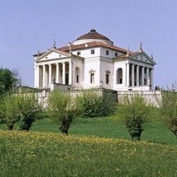 Villa La Rotonda nei pressi di Vicenza.