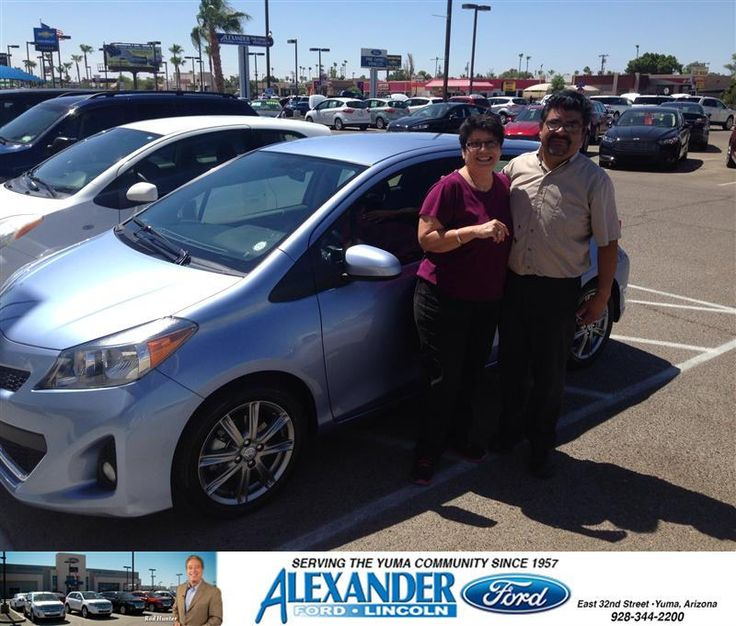 Congratulations to Catalina Uribe on your #Toyota #Yaris purchase from Romeo  Cunanan at Bill Alexander Ford Lincoln! #NewCar