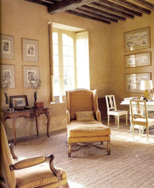 интерьер гостиной светло-желтые стены - Поиск в Google