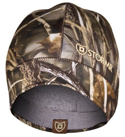 Stormr Men's Stealth Watch Cap Beanie, Realtree Max-4, Large - Hunting, Camouflage & Camo Hunting Gear