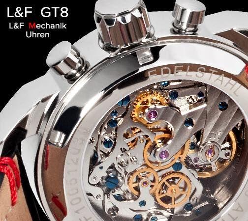http://www.lf-mechanik.de/Uhrenmodelle/Chronograph-GT8 #LFMechanik #GT8