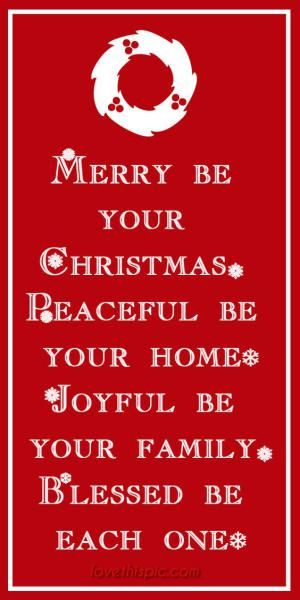 May your Christmas be Merry!