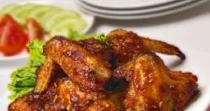 Resep Memasak Sayap Ayam Bakar Madu