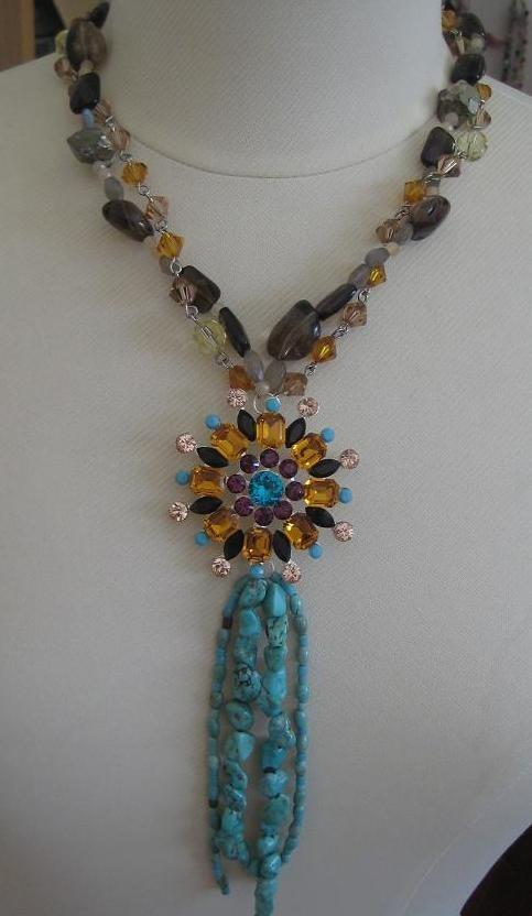 SoniaM Designs Fabulous Jewels Torquoise