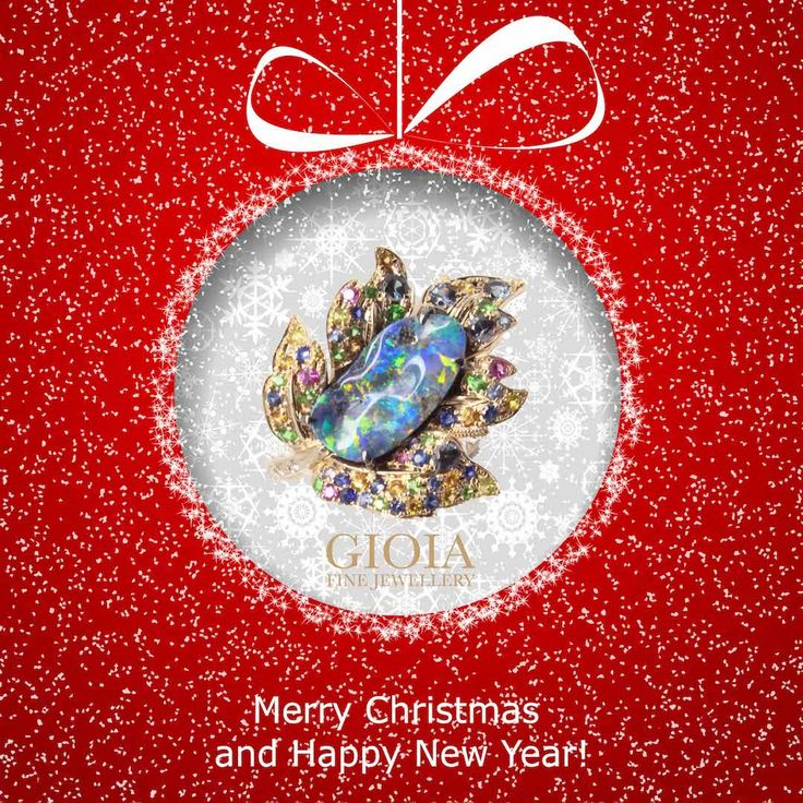 Merry Christmas and A Wonderful New Year!  GIOIA Fine Jewellery would like to thank you for your kind support throughout the current year. May peace, love and prosperity follow you always! Merry Christmas!  Maple, a symbol of strength and endurance. Handcrafted maple leaf ring with opal gemstone, surrounded by multi-colour sapphires and gypsy set round brilliant diamonds.  Every bespoke jewellery tells a unique story, latest update on our bespoke and customised design in the Highlights!