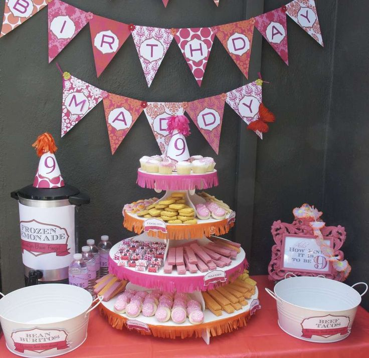 8 Best Images About 9 Year Old Girl Birthday On Pinterest