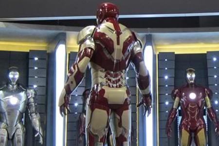 "Por atrás parece tener un diseño que recuerda a la ""cara"" de IRON MAN."