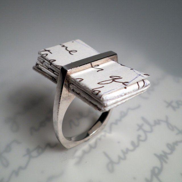 Fancy - I Thou Love Letter Ring $200