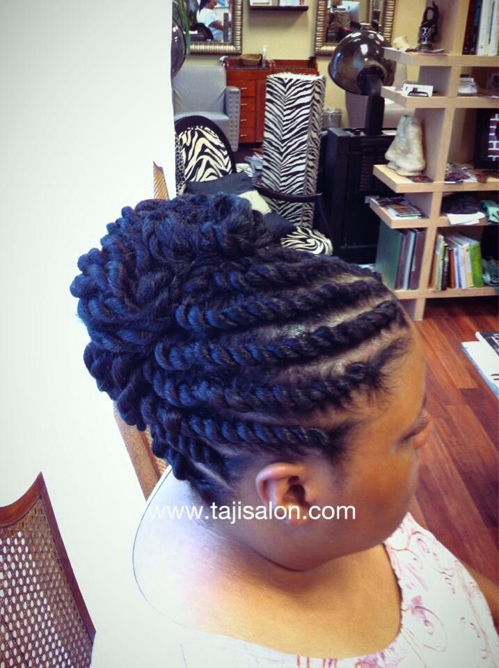 Flat Twist Out With Extensions For Me Pinterest Flat