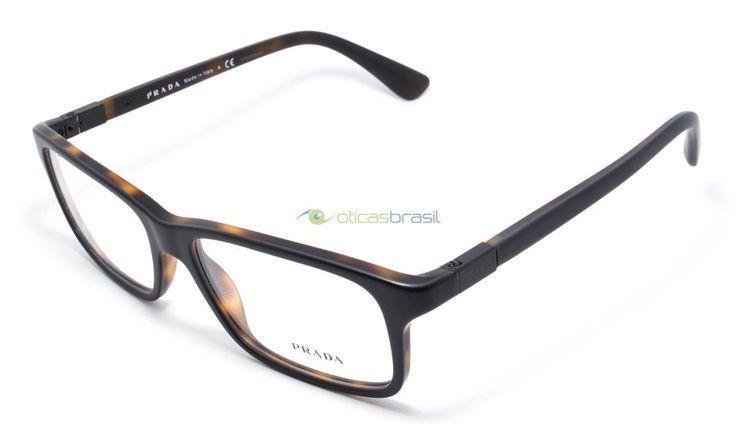 A armação Prada VPR 06S oferece elegância e bom gosto para quem precisa utilizar óculos de grau, com um desenho simples e belo essa peça vai combinar com qualquer visual.  https://www.oticasbrasil.com.br/prada-vpr-06s-ubh-1o1-oculos-de-grau