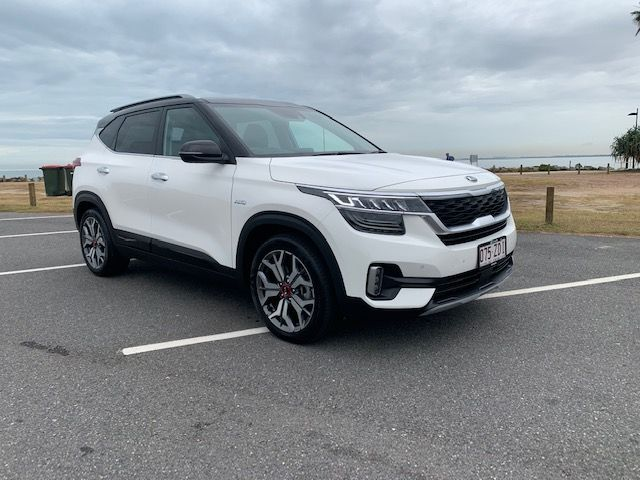 Kia Seltos Gt Line Review If You Re In The Market For A Small Suv The Kia Seltos Might Look Small From The Outside But Its Anything Bu Kia Small Suv Car Guys