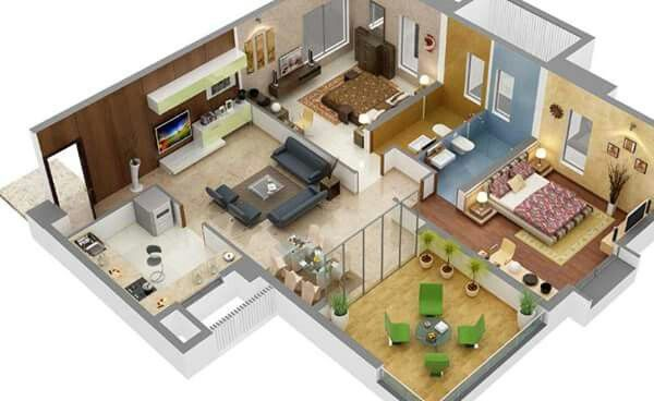 plano-de-casa-con-muchas-habitaciones-8 House - floor plan - logiciel gratuit maison 3d