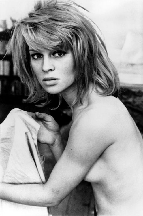 Julie Christie, the 'Darling' of British cinema in 1965.
