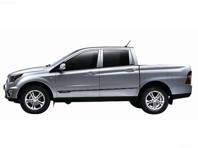 McCarthy Call-A-Car: New SSANGYONG Actyon Sports 2.3 D-Cab 4x4 PU MY12. www.callacar.co.za