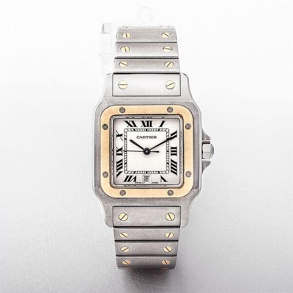 Cartier Santos Model Mid-Size Quartz Watch