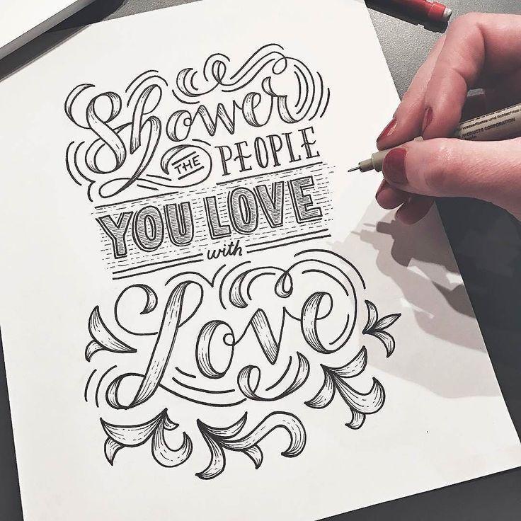 Do it. Type by @lisalorek - #typegang - free fonts at typegang.com   typegang.com #typegang #typography