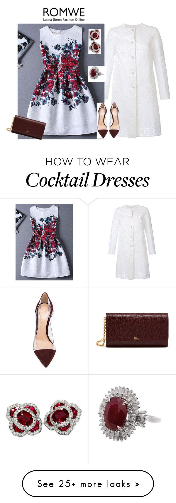 """""""outfit 4251"""" by natalyag on Polyvore featuring HUISHAN ZHANG, Gianvito Rossi and Mulberry"""
