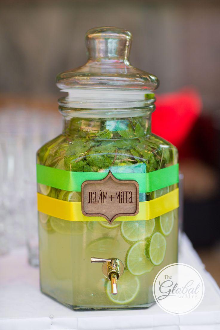 Citrus wedding Lemonade bar Wedding decor and floristic Цитрусовая свадьба Лемонадница Декор и флористика