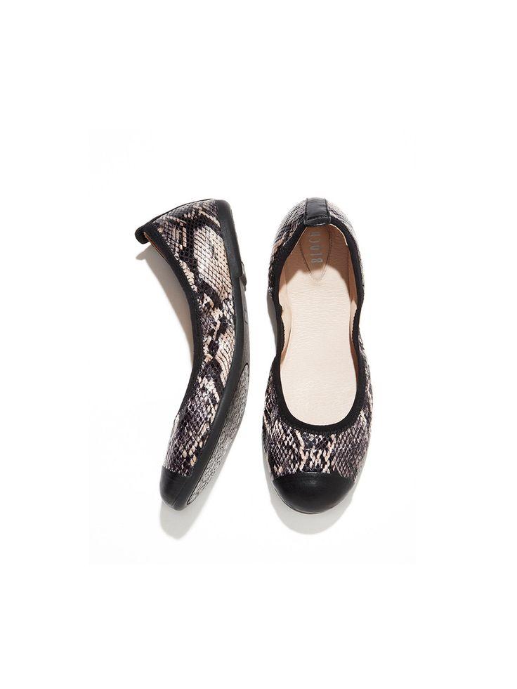 Bloch Carina snakeprint ballet flats