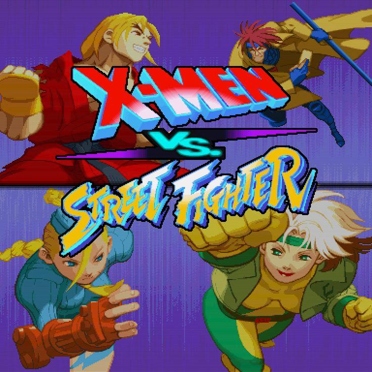 X Men Vs Street Fighter Marvel Vs Capcom Capcom Vs Street Fighter