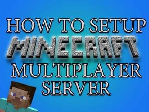 ▶ How To Make A Minecraft Multiplayer Server (Tutorial) - YouTube