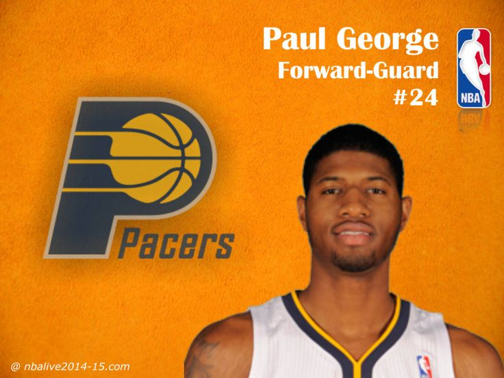 Paul George - Indiana Pacers - 2014-15 Player